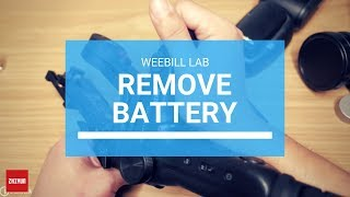 How To Remove Zhiyun Weebill LAB