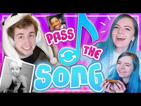 Pass The Song Challenge w/ Elise Ecklund!
