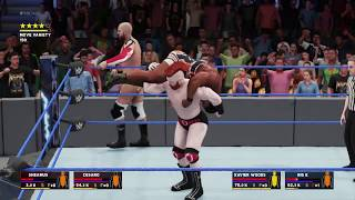 WWE Smackdown 1000 match result: New day vs. the Bar for the SD Live tag titles