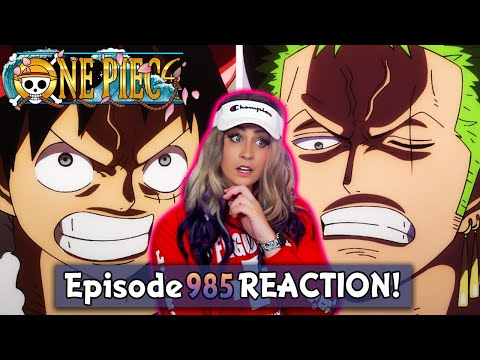 Download LUFFY AND ZORO LET'S GO! One Piece 985 Reaction + Review!