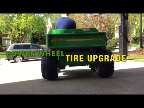 Peg Perego & Power Wheels Tire and Traction Upgrade