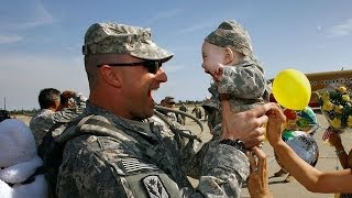 Take The Challenge And Try Not To Cry Happy Tears Part 1(US Troops ...