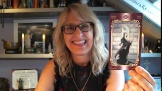 Aries Love & Romance June  2018 Tarot & Oracle Card Reading  by Sloane Rhodes