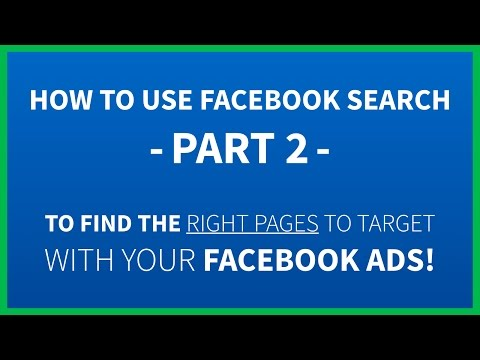 How To Use Facebook Search Part 2 | Advanced Facebook Ads Research Phrases