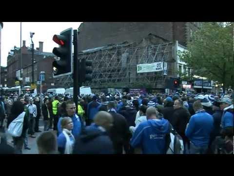 Kibice z Poznania w Manchesterze. Mecz wyjazdowy: Manchester City vs Lech Poznań