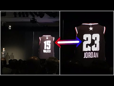 Otis - NBA Unveils New Futuristic, Hologram Number Changing Jersey