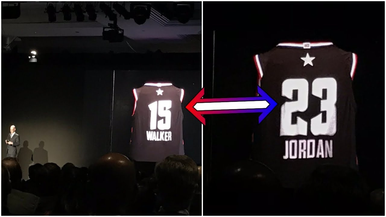 31ba54de2bea Adam Silver unveils NBA jersey that can automatically change the name    number on the back