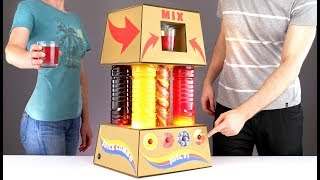 How to make MULTI Juice Fountain Machine with LED Twister COMBO