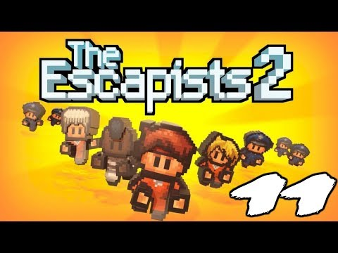 The FGN Crew Plays: The Escapists 2 #11 - Wood Supports (PC)