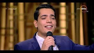 """مساء dmc - المنشد محمود هلال يبدع بصوته الرائع في أغنية """" على بلد المحبوب وديني """" بإضافتهم عليها"""
