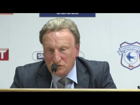 WARNOCK'S FIRST CARDIFF CITY MEDIA CONFERENCE