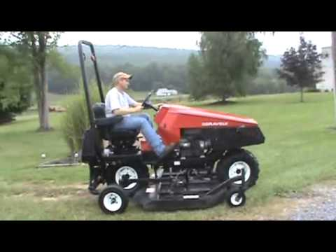 Gravely Deweze Atm72 Slope Hill Side Mower Brush Cutter