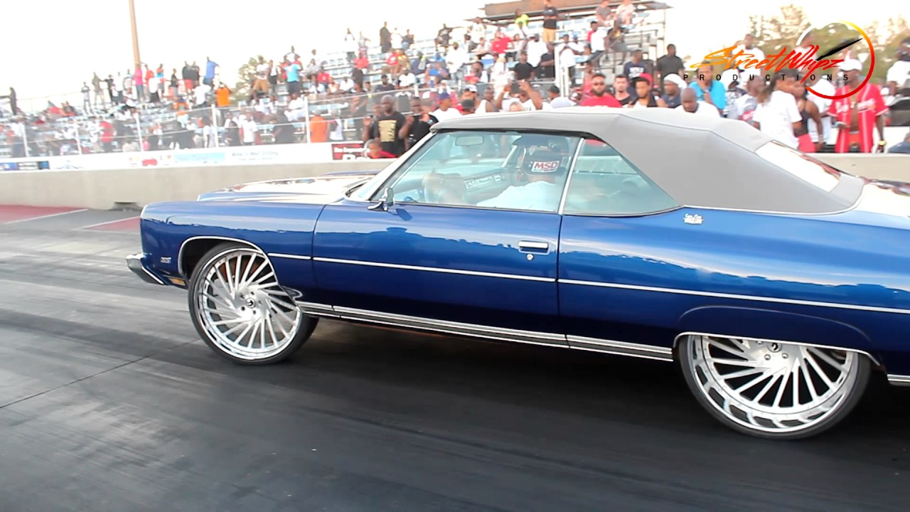 Super Clean 1973 Donk From South Florida Making A Test Pass Fast