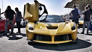 Italiaanse supercars op TT-Circuit Assen tijdens VIVA ITALIA