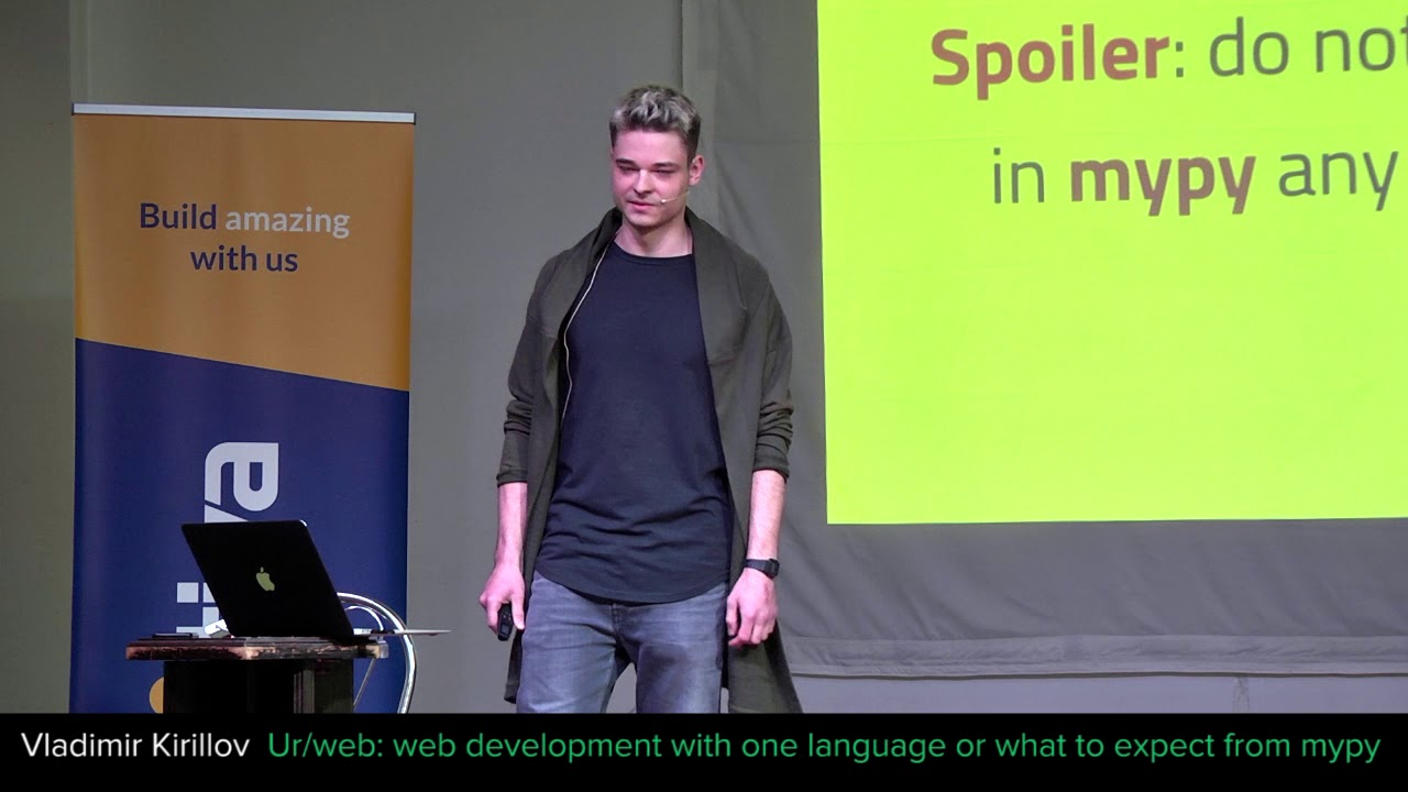 Image from Ur/web: web development with one language or what to expect from mypy