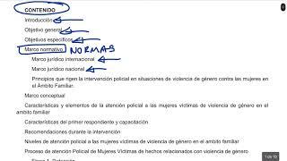 Protocolo Nacional para la Atención a la Violencia de Genero contra las Mujeres