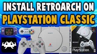 BleemSync PlayStation Classic RetroArch Setup! (N64/GBA/SNES/SMS)