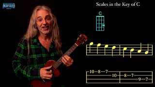 Scales in the Key of C - Ukulele Learning Package by Bartt