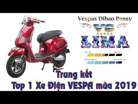 Trung Kết Top 1 Xe Điện VESPA Lima VS Dibao Pansy - Xe Máy điện VESPA Tốt Nhất ?