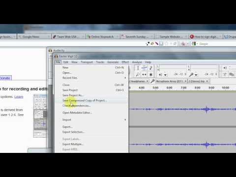 How to Reduce an MP3 File Size With Audacity