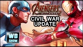 Marvel: Avengers Alliance 2 - CIVIL WAR UPDATE!