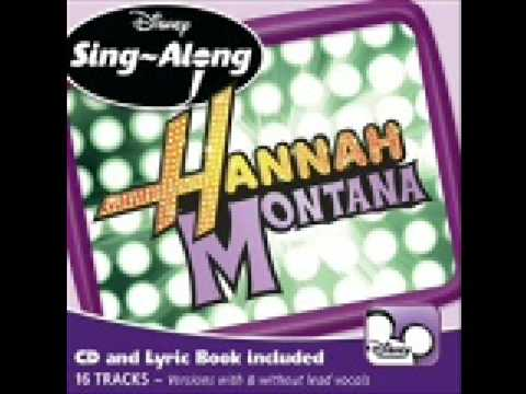 Hannah Montana The Other Side Of Me Official Karaoke HQ from CD Sing Along + Lyrics