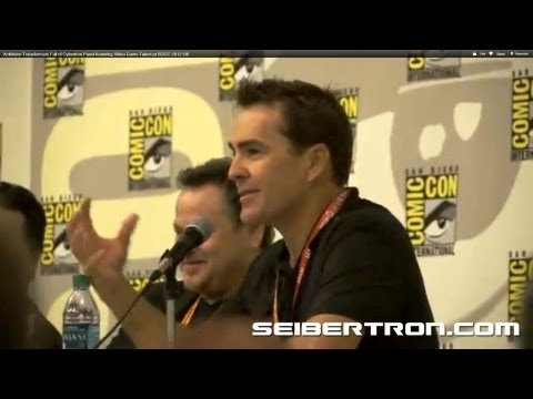 Activision Transformers Fall of Cybertron Panel featuring Video Game Talent at SDCC 2012 5\/8