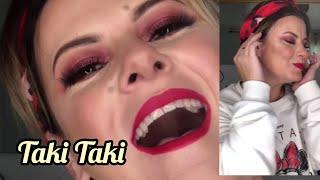 Taki Taki Música con Maquillaje