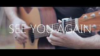 see you again   wiz khalifa ft charlie puth fingerstyle guitar cover by peter gergely