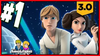 Disney Infinity 3.0 - Star Wars Part 1 Rise Aganist the Empire PS4 Gameplay