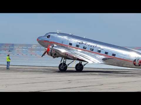 Flagship Detroit DC3 at AA Tulsa Base