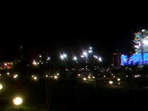 Olympic Green, Beijing at Night