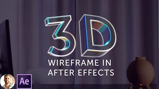 3D WireFrame in After Effects - FAST! (tutorial)