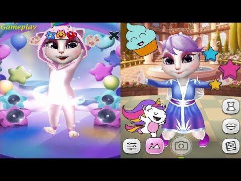 my-talking-angela-new-update-2020---happy-unicorn-dance-gameplay-hd
