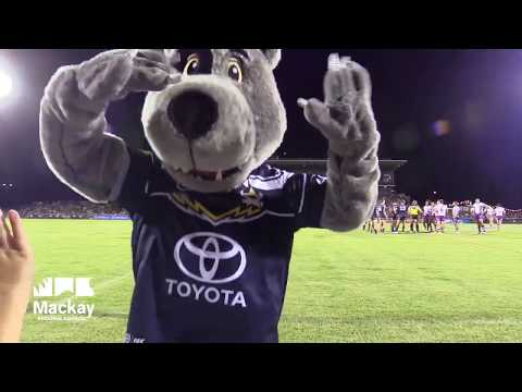 NQ Cowboys vs Melbourne Storm pre-season trial match