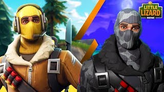 RAPTOR MEETS HIS EVIL TWIN BROTHER! Fortnite Short film