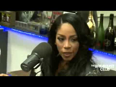 K  Michelle Interview at The Breakfast Club Power 105 1 12 09 2014