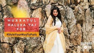 Hurratul Maleka Taj for Style Your Way To Paris (Swarovski, Popxo) #StyleYourWayToParis #Mumbai