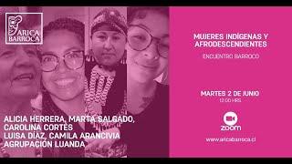 Encuentro Barroco - Mujeres Indígenas y Afrodescendientes