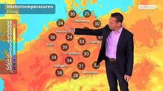 Wetter: Die aktuelle Vorhersage (03.08.2018)