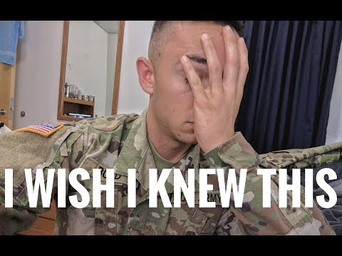 My Advice For Basic Training: ARMY BCT Fort Sill Oklahoma