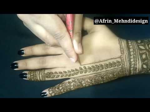 Mehndi For Thumb : Afrin mehndi design google