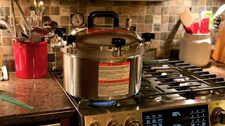 Test Running a Brand New All American Pressure Canner 915