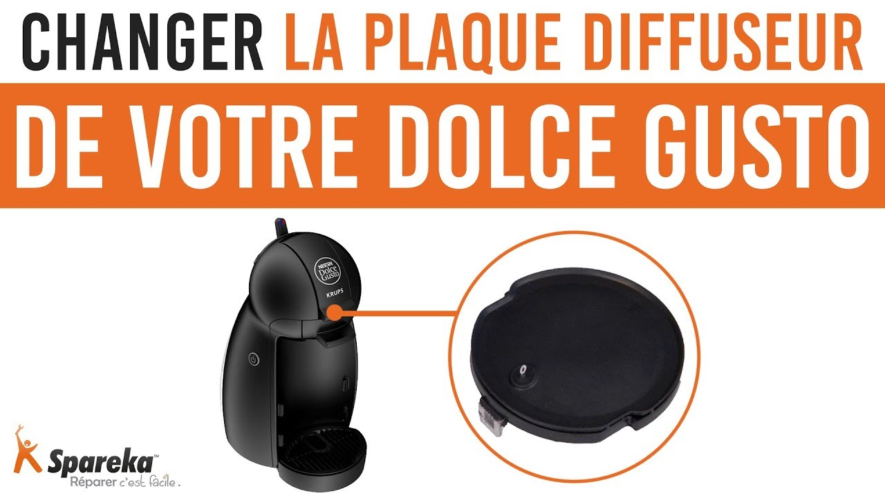 comment changer la plaque diffuseur de votre dolce gusto youtube. Black Bedroom Furniture Sets. Home Design Ideas