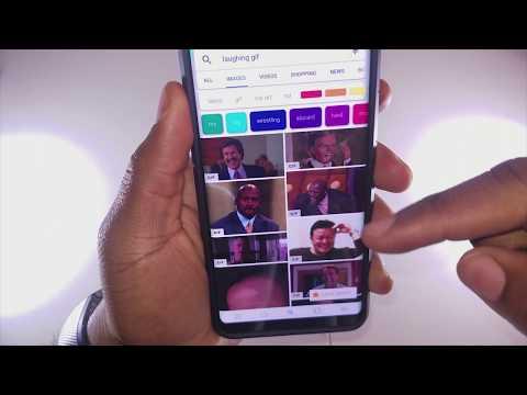 Samsung Messenger Finally Supports Gifs???!! (Sorta)