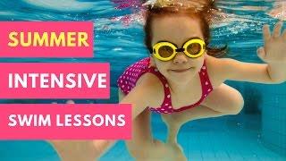 Summer Intensive Swim Lessons | The Aqua Life