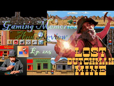 Lost Dutchman Mine - Amiga - Gaming Memories And Review