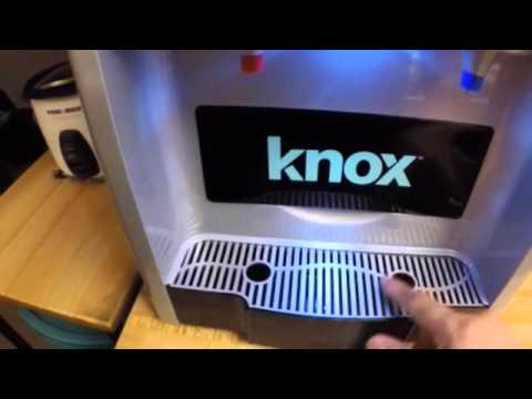 Knox Hold And Cold Water Dispenser With IceMaker