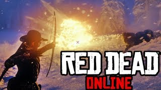 Things Get Crazy In This Legendary Bounty Hunt   Red Dead Online Bounty Hunter