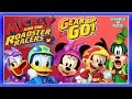 Mickey & The Roadster Racers: Racing/Driving Game All Characters - Disney Junior App For Kids